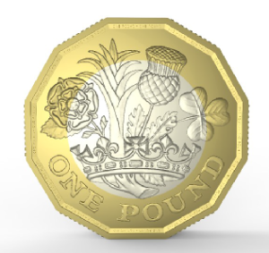 The arrival of the new £1 coin was something we were prepared for - July 2017.