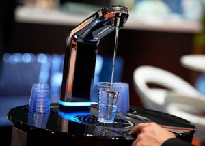 Refill your cup with crystal clear water from the stunning B5 water cooler.
