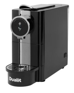 The Dualit Cafe Plus is an elegant hot drinks machine that is brimming with style.