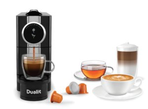 The Dualit Hot Drinks Machine arrives - December 2017.