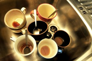 There's no need to wash up with a hot drinks machine!