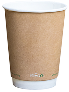 The fully recyclable coffee cup from reEco.
