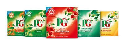 PG tips Fruit & Herbal Range