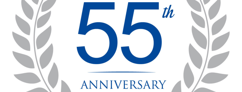 We have been in business 55 years, and will celebrate in the best way we know - giving to charity!