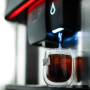 Hot drinks machines deliver your beverage quicker than the kettle.