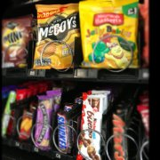 Our snack machines are now home to three new tenants...