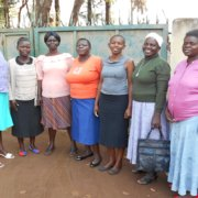 The ladies our charity work has helped support!