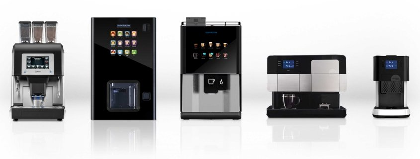 Tabletop Hot Drinks Machines from Coinadrink.