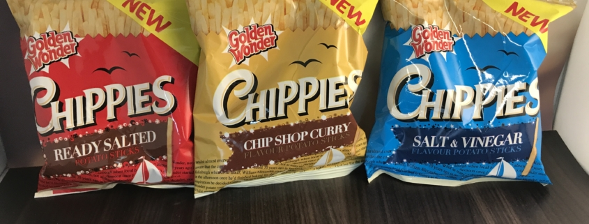 Golden Wonder 'Chippies' soon to be arriving in a snack machine near you!