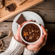 Hot Chocolate. A stunning hot drink.