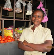 Vivian has also made a respectful living thanks to the help of Just Small Change.