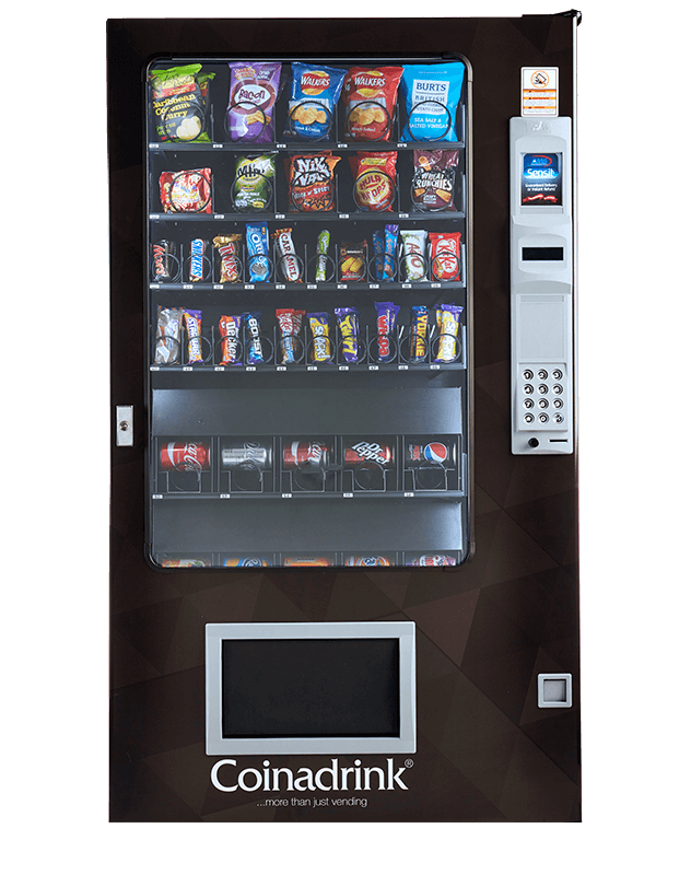 The AMS Combi combines your snacks and cold drinks brilliantly.
