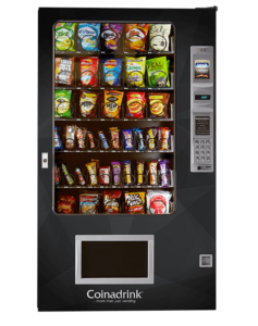 A delicious collection of snacks from the AMS Snack Machine.
