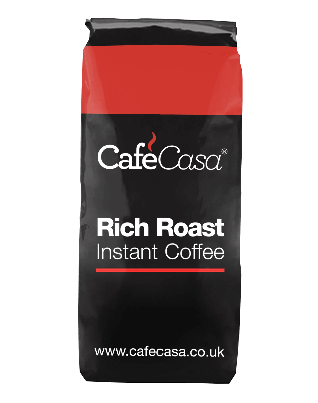 Rich roast instant coffee from CafeCasa.