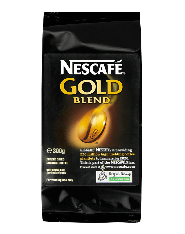 Enjoy quality beverages courtesy of Nescafe coffee beans.