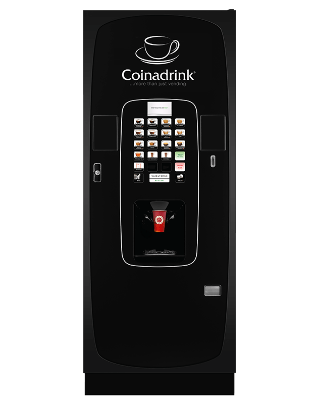 The Icon vending machine is the new addition to our range.