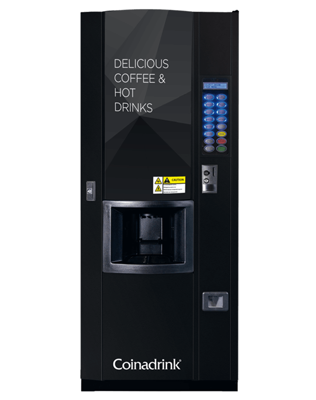 The Java hot drinks machine from Coinadrink.