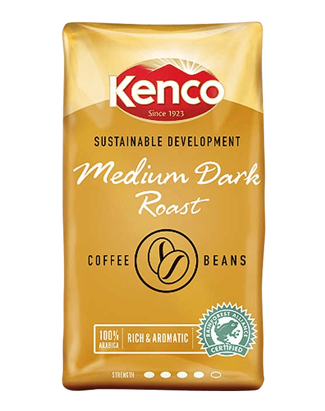 Hot drinks crafted from Kenco coffee beans can be enjoyed from our vending machines.