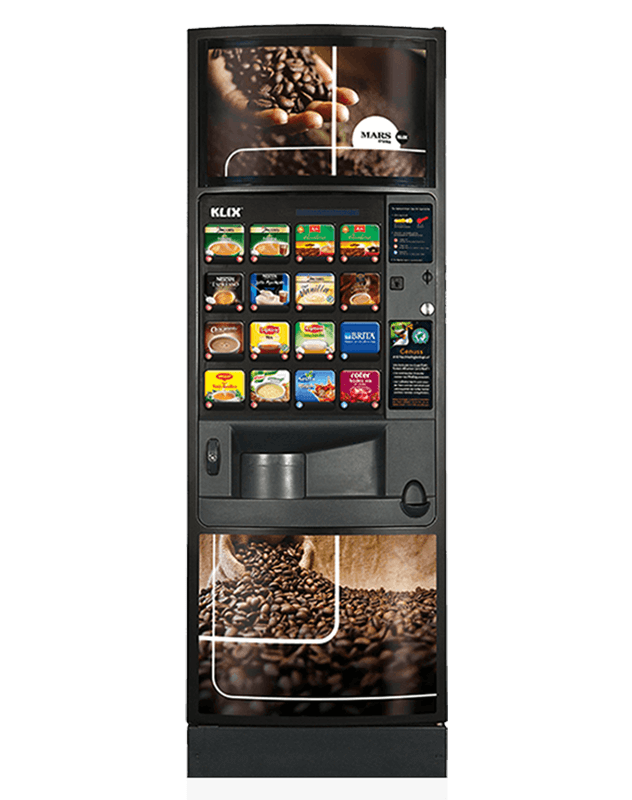 The Klix Outlook provides premium hot drinks quickly and easily.