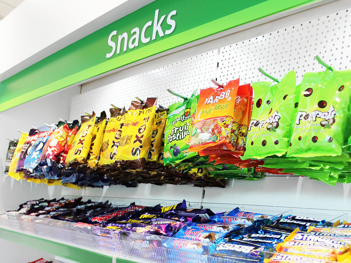 Snacks vending supplies for micro markets