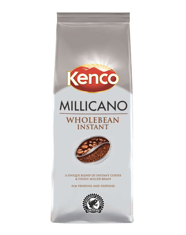 Kenco Millicano gives you wholebean instant coffee.