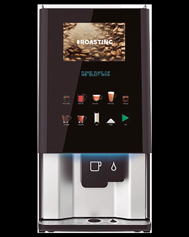 Vitro S4 coffee machine, fresh brew tea.