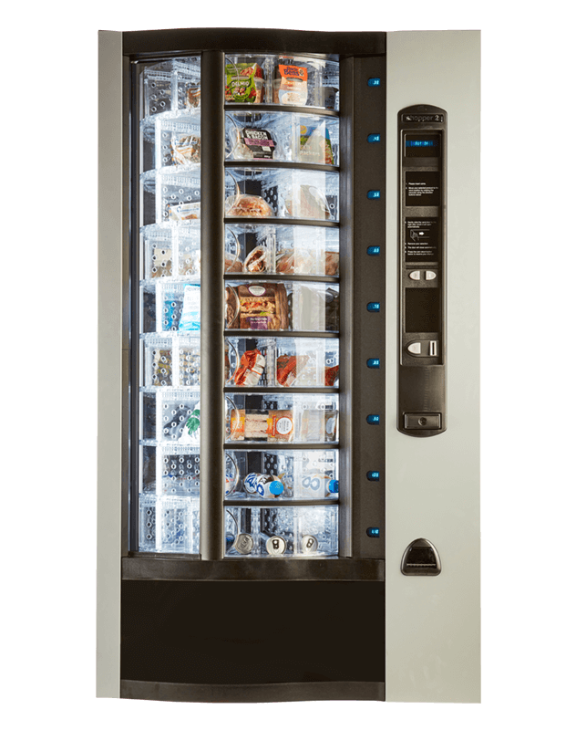 The Shopper 2 food machine from Coinadrink.