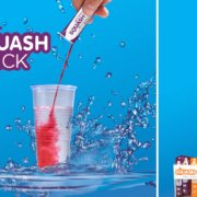 Squash Stix - an ideal alternative for water!