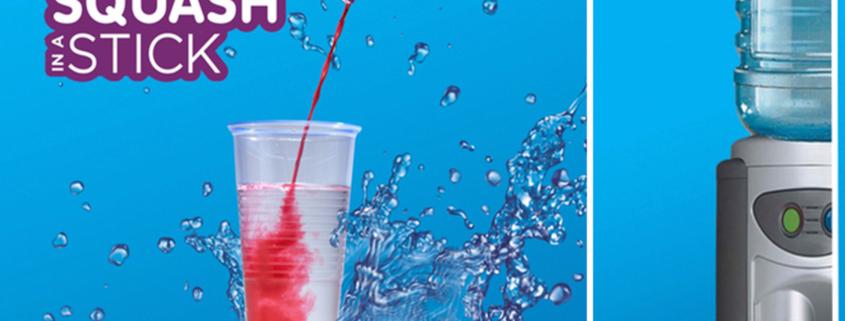 Squash Stix - an ideal alternative for water!