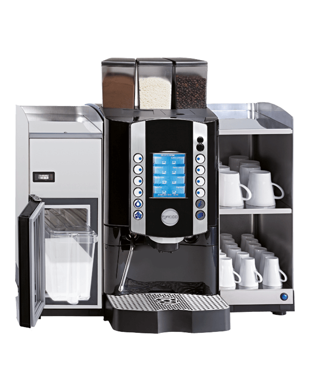 The Tchibo Mx4 fresh milk machine from Coinadrink.