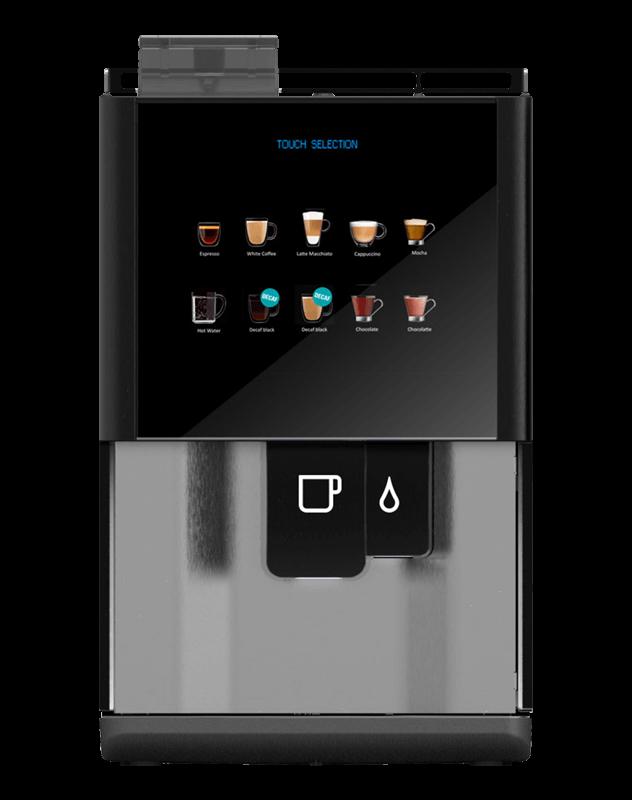 Vitro S3 tabletop coffee machine.