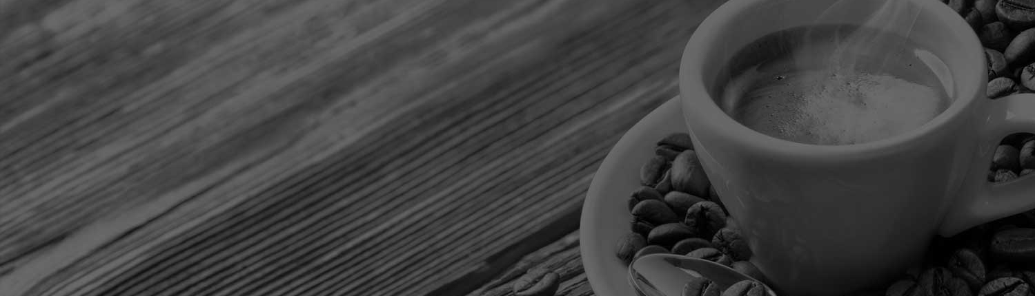 Roast and ground coffee banner
