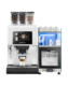 The Kalea is a stylish hot drinks machine that produces your beverage with fresh milk.