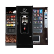 Vending machines from Coinadrink dispense quality workplace refreshments.