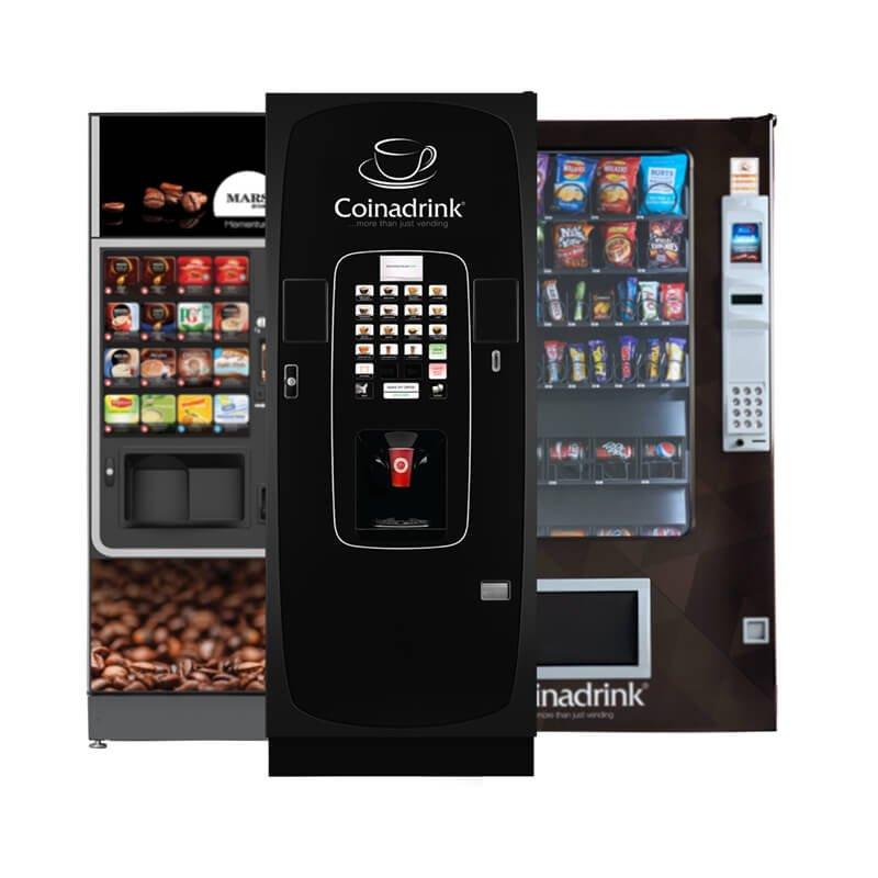 Vending machines from Coinadrink.