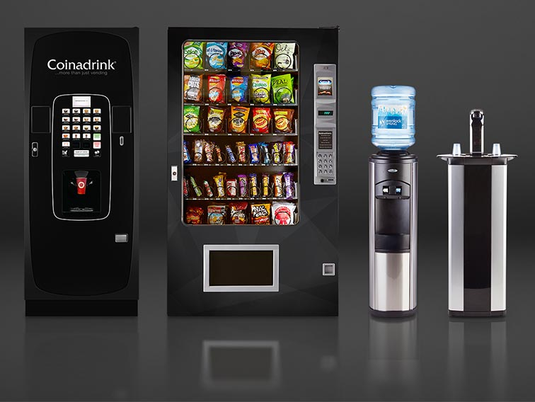 Coinadrink's vending machine range