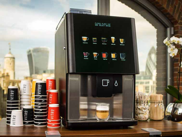 Vending machine hire prices as easy as one, two, three!