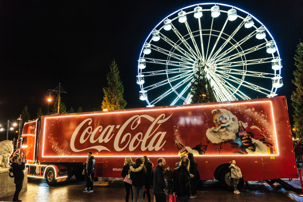 Coca Cola Christmas.Will You Spot The Coca Cola Truck This Christmas