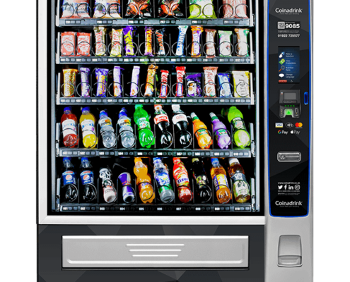 The Merchant 6 snack and cold drinks machine is an advanced and reliable vending solution.
