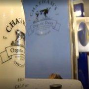 A fresh milk vending machine has launched in a Shropshire farm.