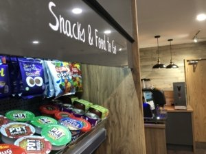 The new showroom features our innovative Micro Market, the revolution in workplace refreshments!