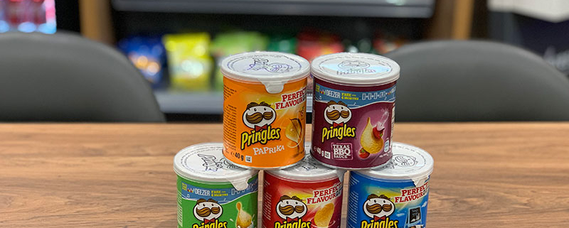 Check out the new Pringles flavours in our Micro Market!