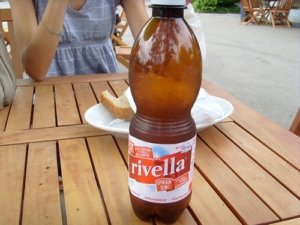The Rivella is one of the soft drinks from Switzerland.