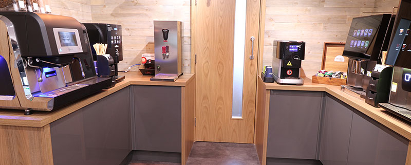 See our premium line of tabletop hot drinks machines and more at our Business Festival event!