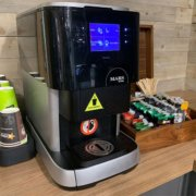 The Flavia is a compact coffee machine that is big on choice and big on quality!