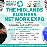 The Midlands Business Network Expo returns on Friday 11th October!