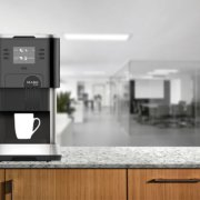 The Flavia tabletop coffee machines are a great choice if you're short on space!