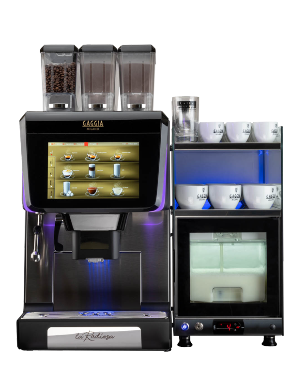 La Radiosa is here. This is more than just a coffee machine...