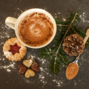 Check out some festive hot drinks to get you in the Christmas spirit!
