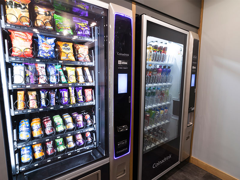 Should you have snack machines at work?